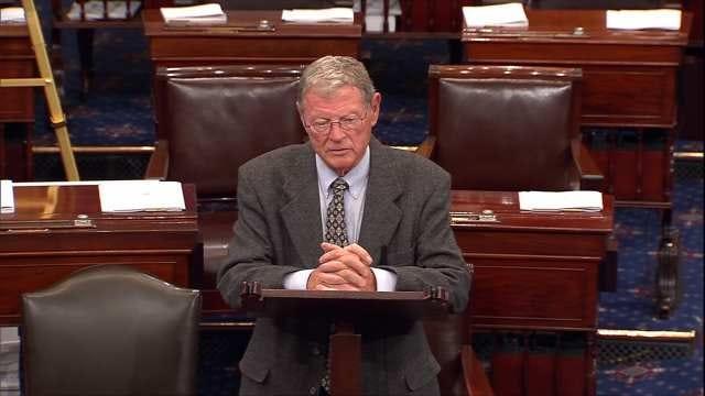 OK Senator Jim Inhofe Endorses Presidential Candidate John Kasich
