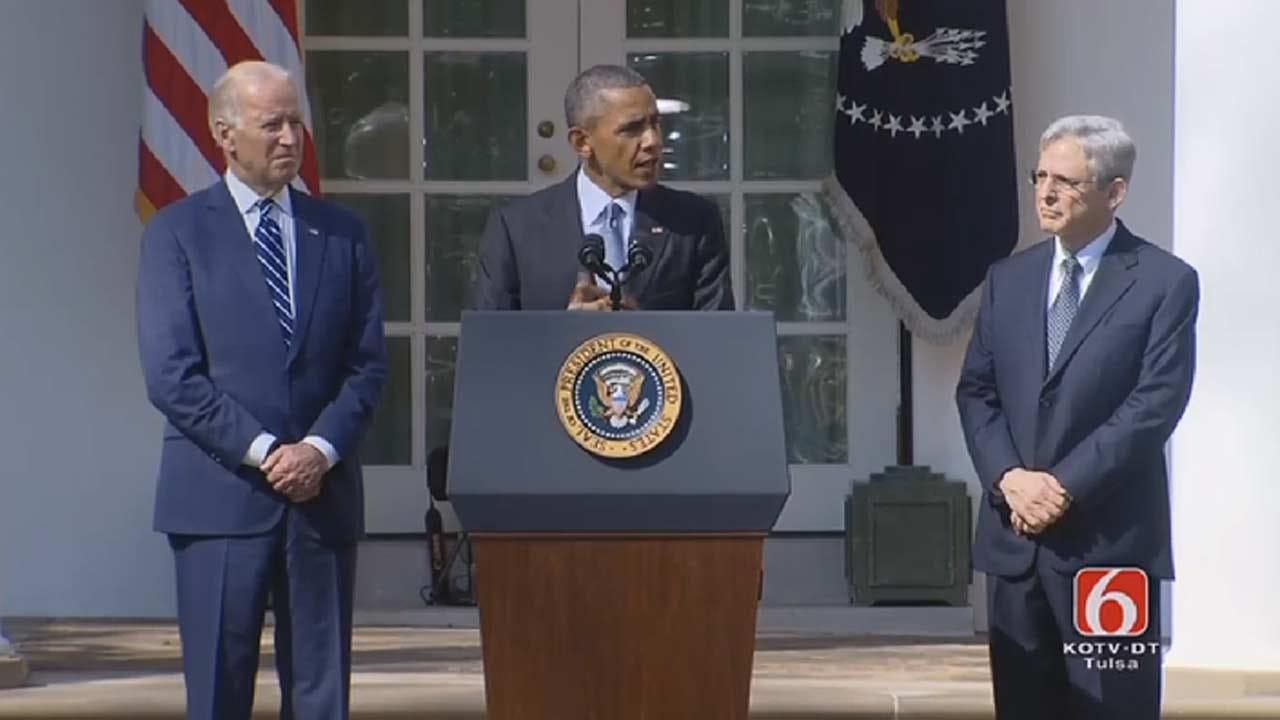President Obama Nominates Merrick Garland To Supreme Court