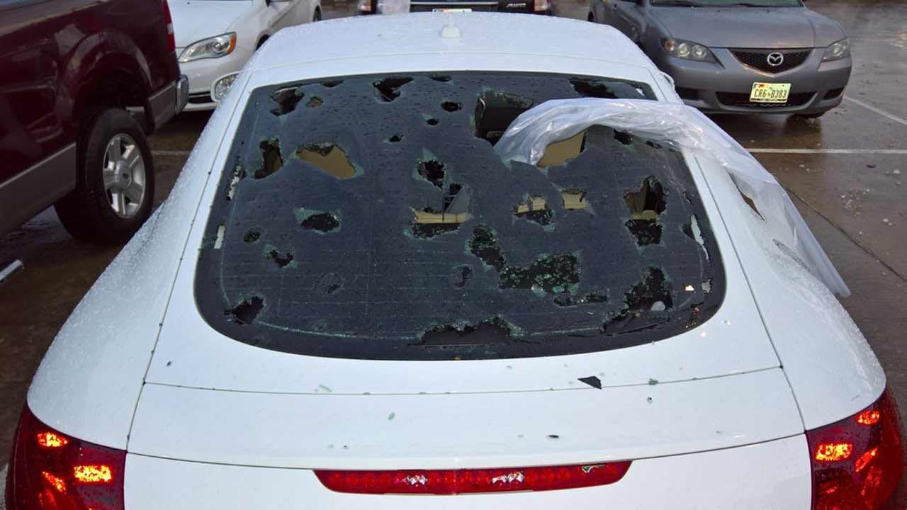 Dallas-Fort Worth Area Pounded By Hail Storm