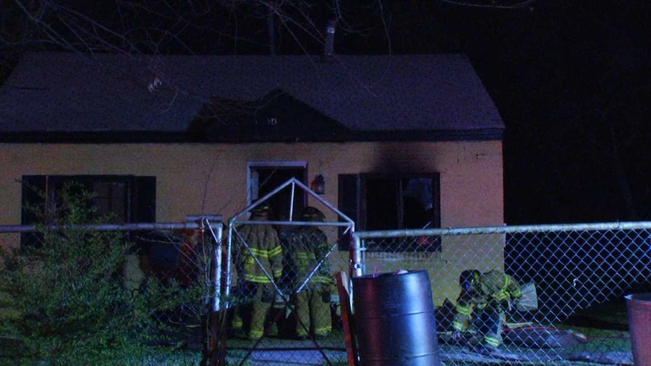 Red Cross Helping After Tulsa House Fire