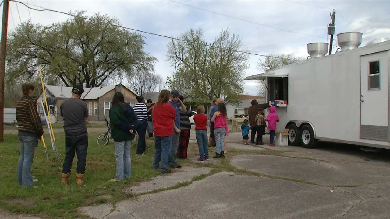 Tulsa Food Bank Takes Spring Break Meals On The Road