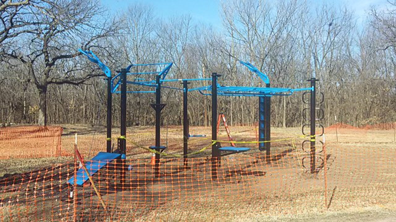 Bartlesville Installs 'Adult Jungle Gym' At City Park