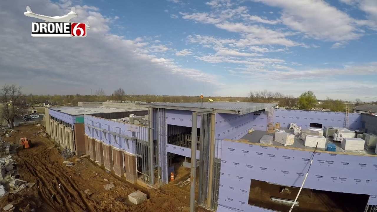 Drone 6: Coweta's New Central Elementary School