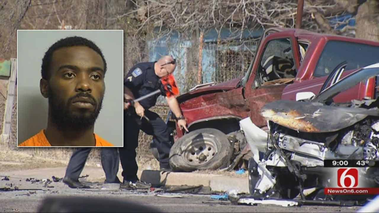 Fatal Tulsa Hit-And-Run Suspect Arrested