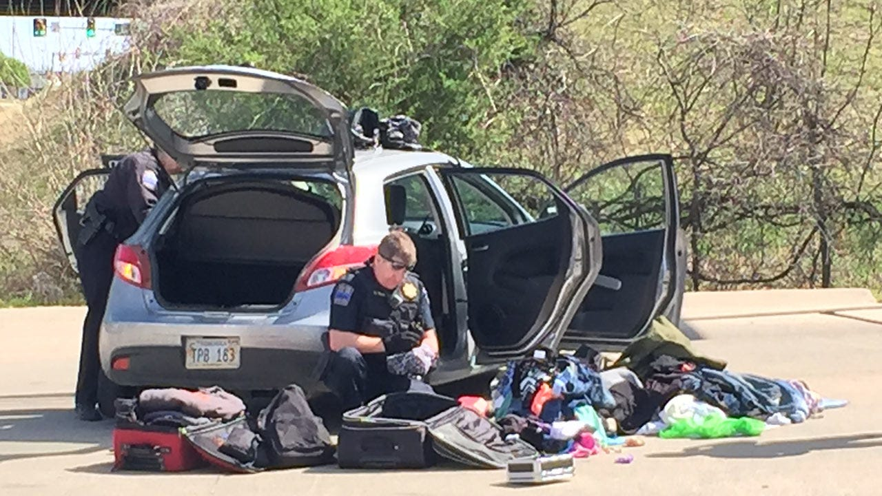 Stop Sticks End Lengthy Police Chase In East Tulsa