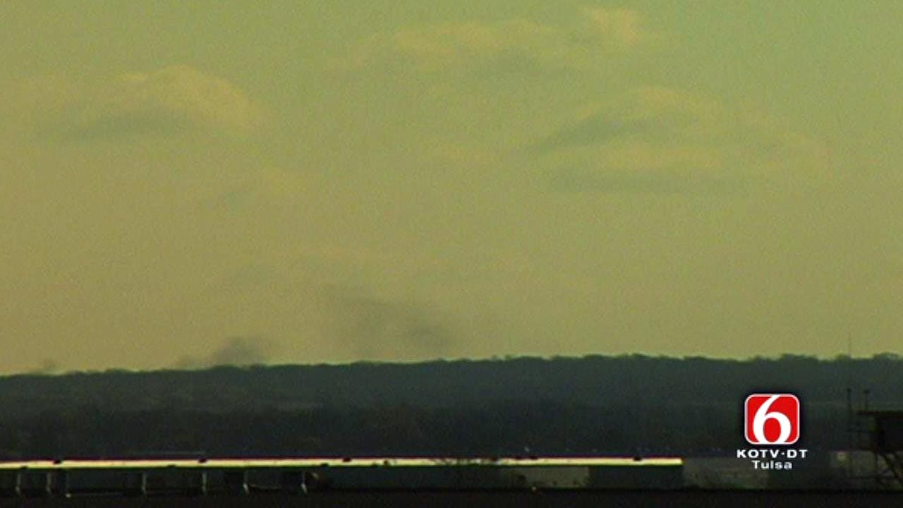 Crews Respond To Tank Fire At Port Of Catoosa