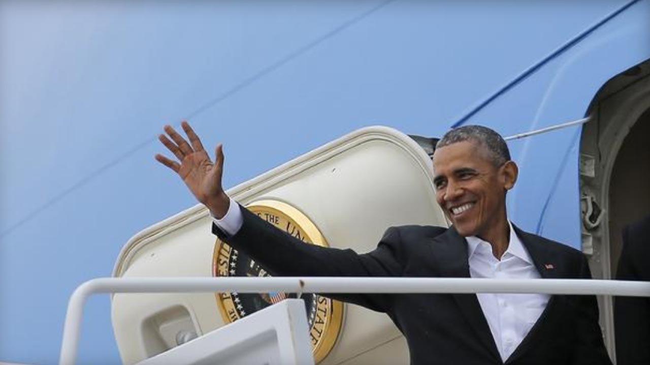 President Obama Welcomed For Historic Cuba Visit