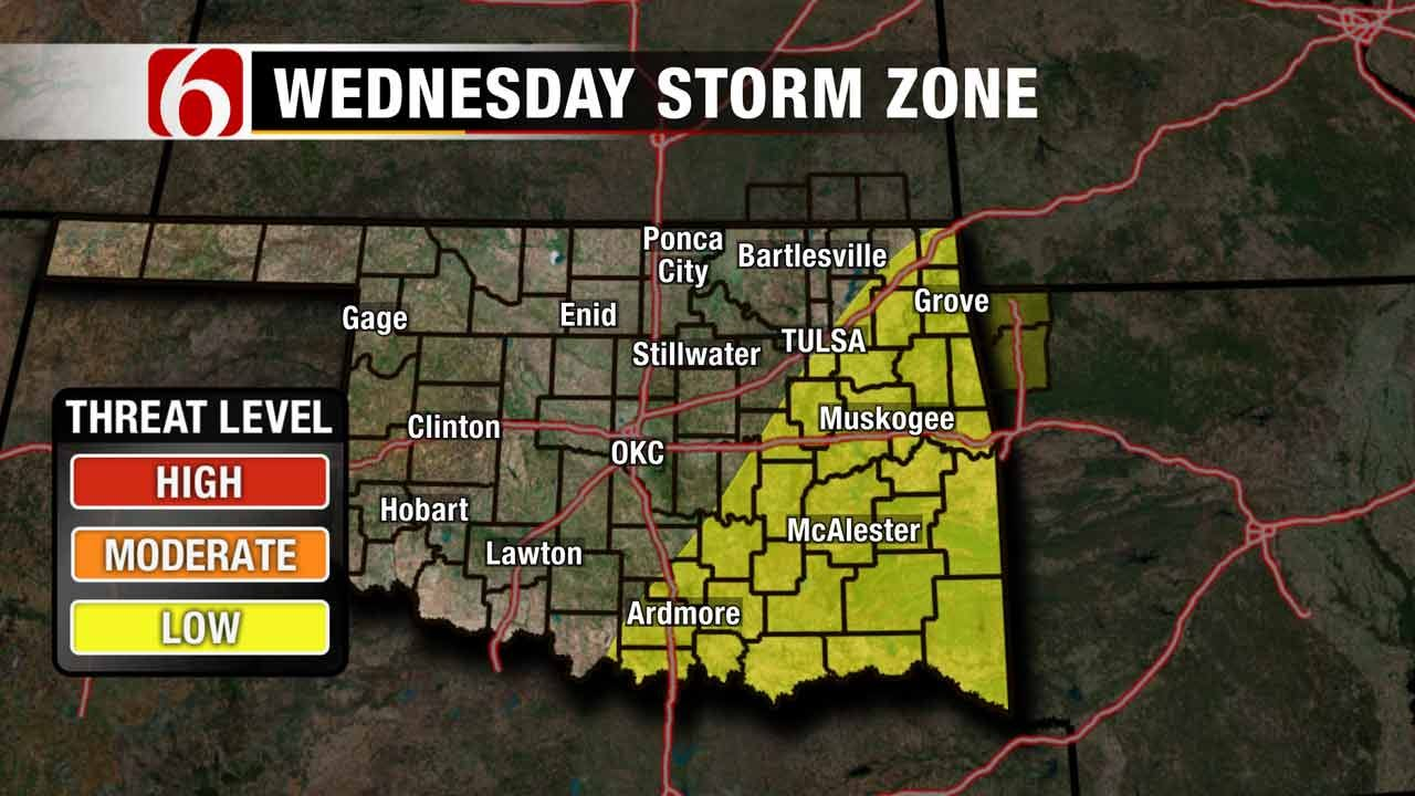 Stacia Knight Weather Blog: Roller Coaster Temps, Storms In Forecast