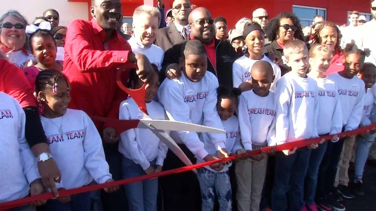 New MLK Center In Muskogee Holds Ribbon Cutting
