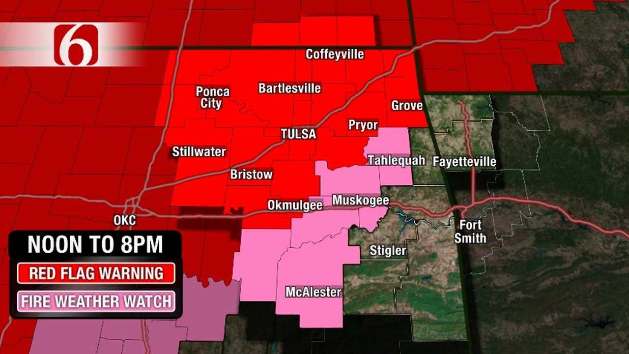 Alan Crone Weather Blog: Windy, Warmer, And Extreme Fire Danger Today