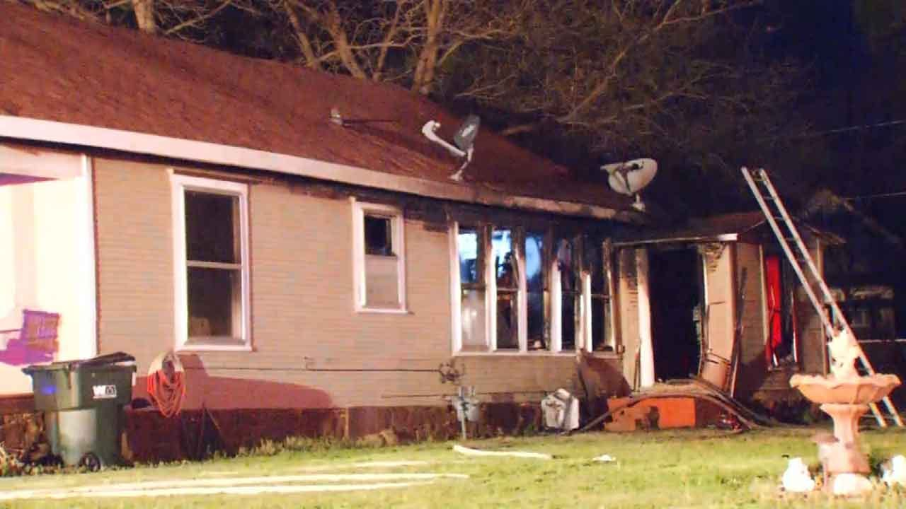 Sapulpa Woman Escapes Early Morning House Fire