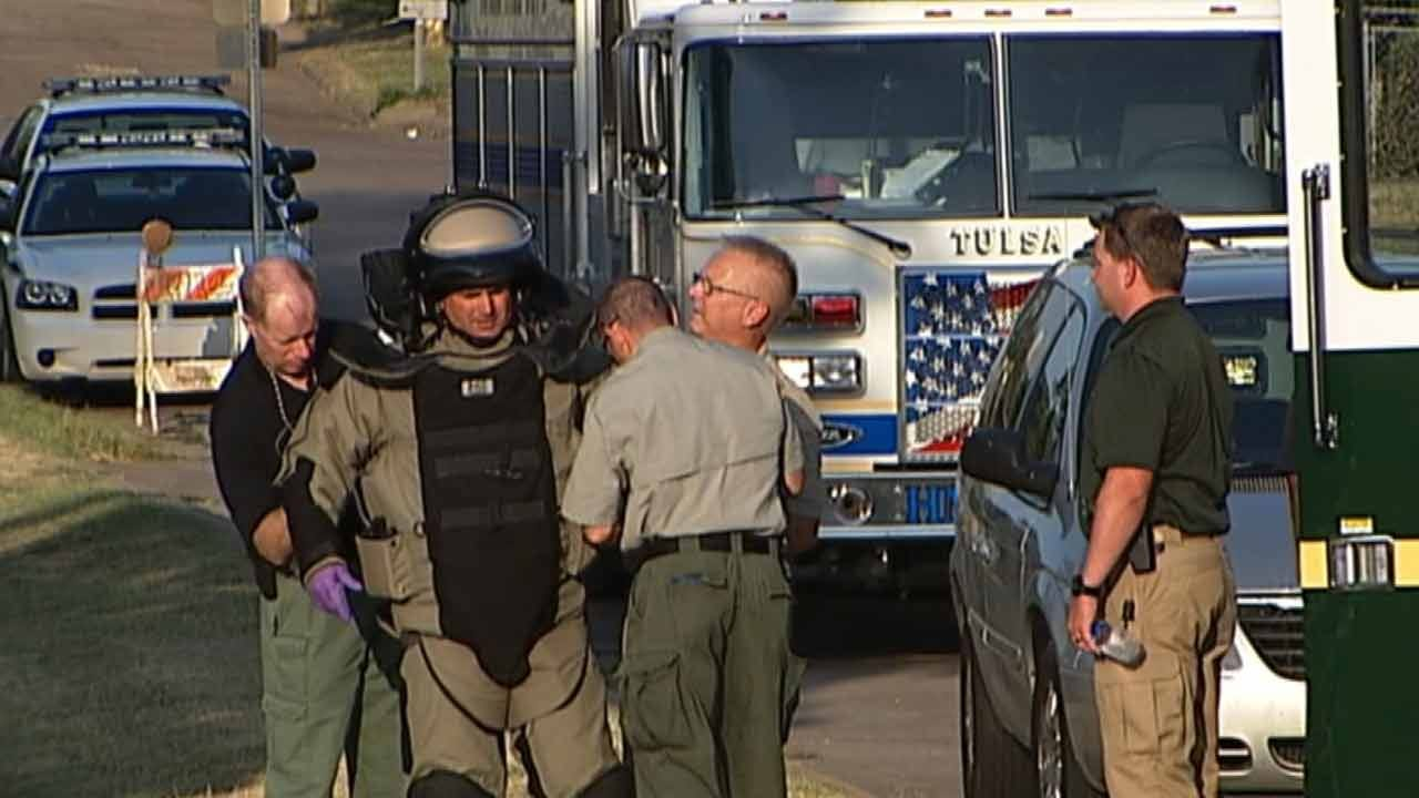 Tulsa Bomb Squad Regularly Trains For Potential Threats