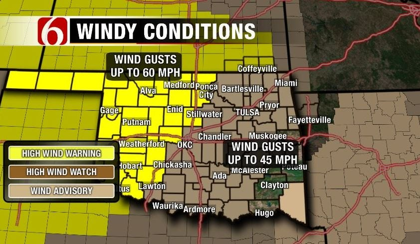 Alan Crone's Weather Blog: Fire Danger West And Storm Chances East