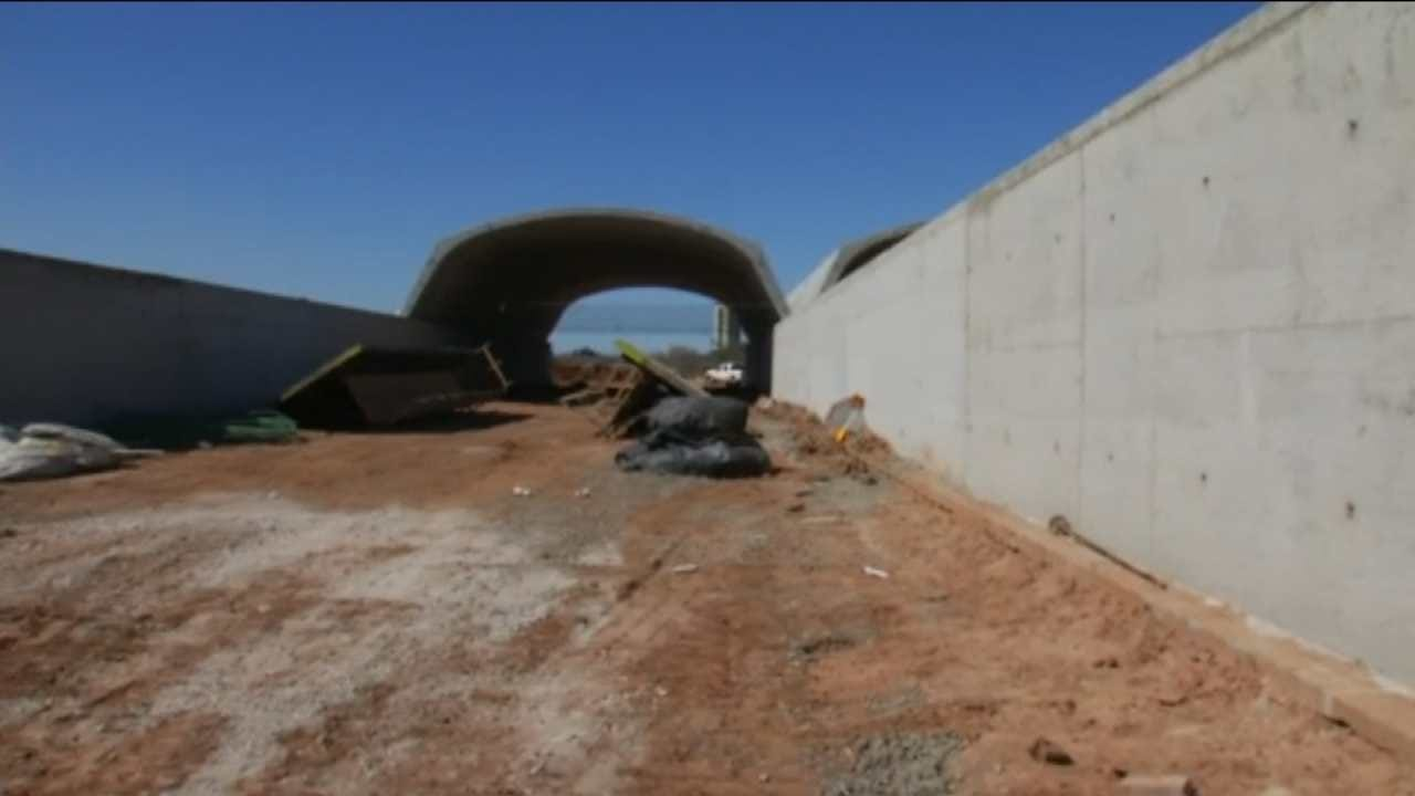 Gathering Place Tunnels Taking Shape To Transform Riverside Drive