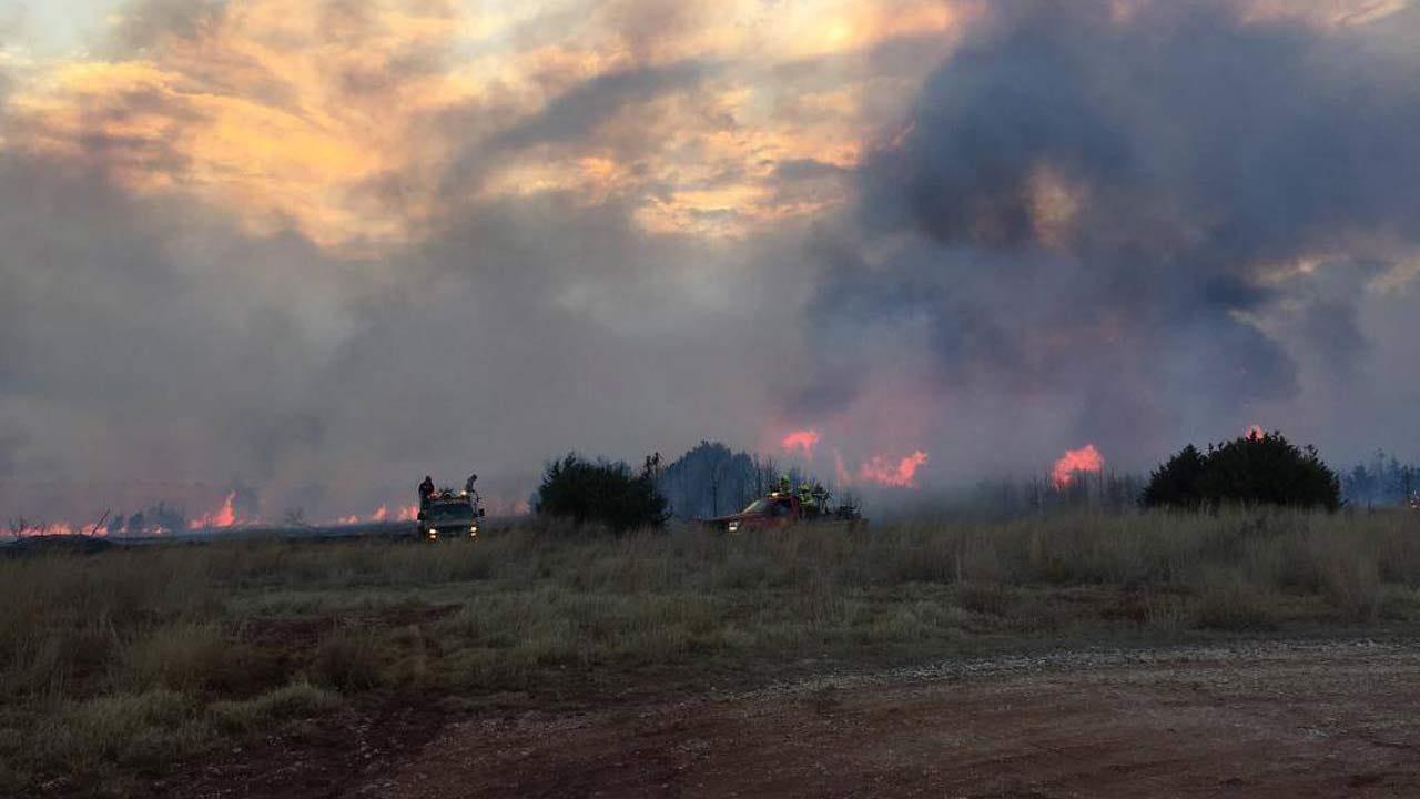 Easter Snow, Rain Help Crews In Huge Kansas Wildfire