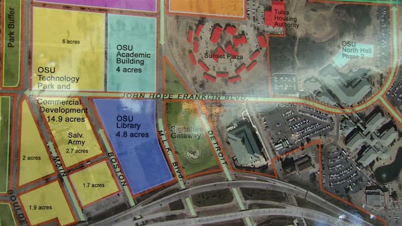 OSU-Tulsa Hoping Vision Plan Transforms Its Neighborhood