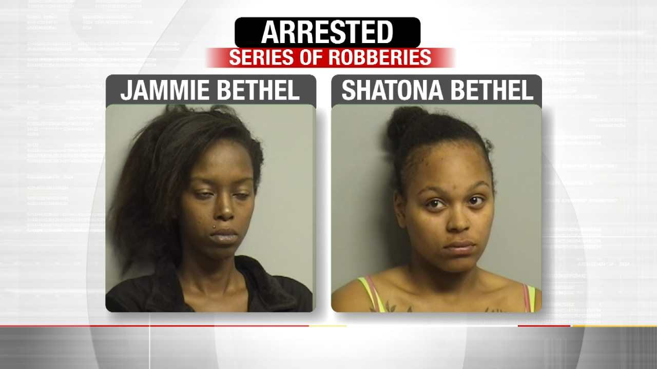 Tulsa Sisters Arrested For Allegedly Robbing Elderly, Special Needs Victims