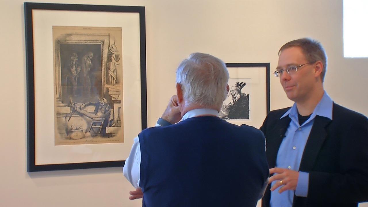 History Of Political Cartoons On Display At Zarrow Center