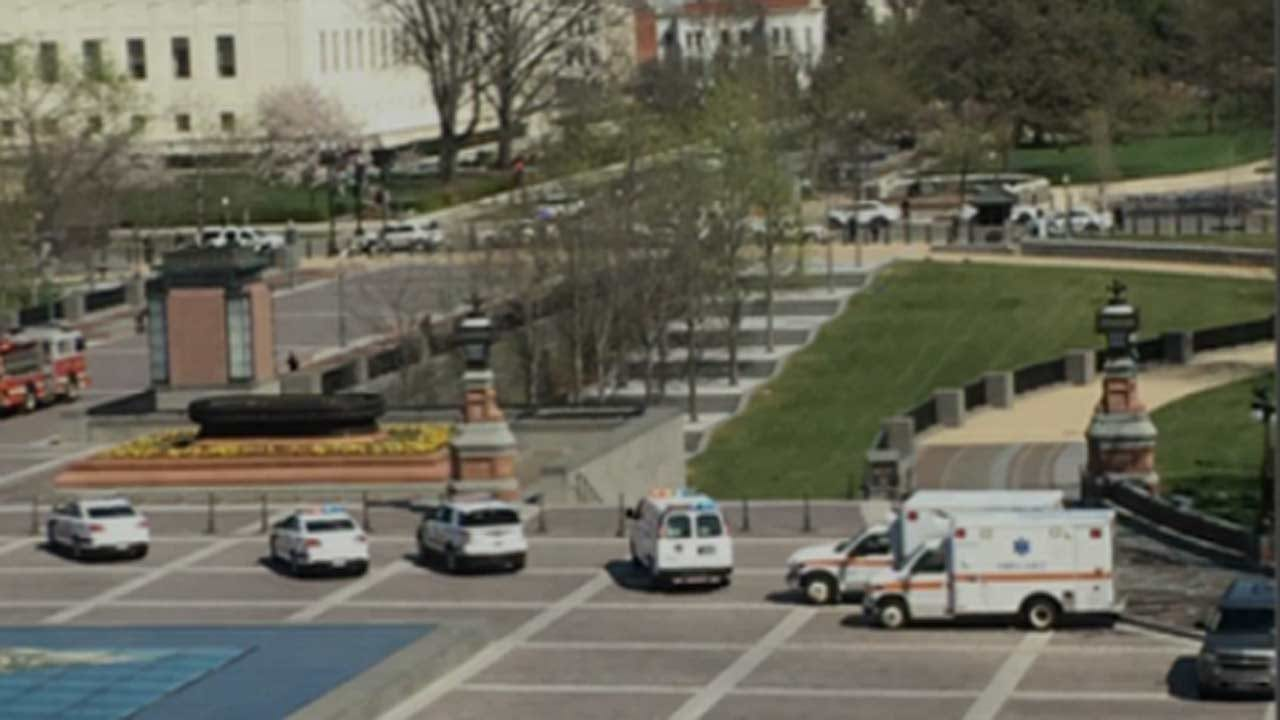 Man Who Drew Weapon At U.S. Capitol Shot By Police