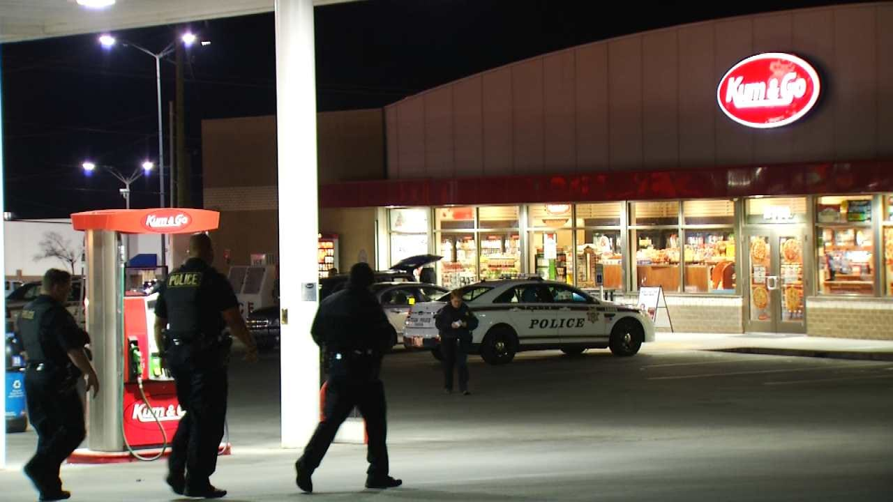 Man Wounded In Shootout At Tulsa Gas Station