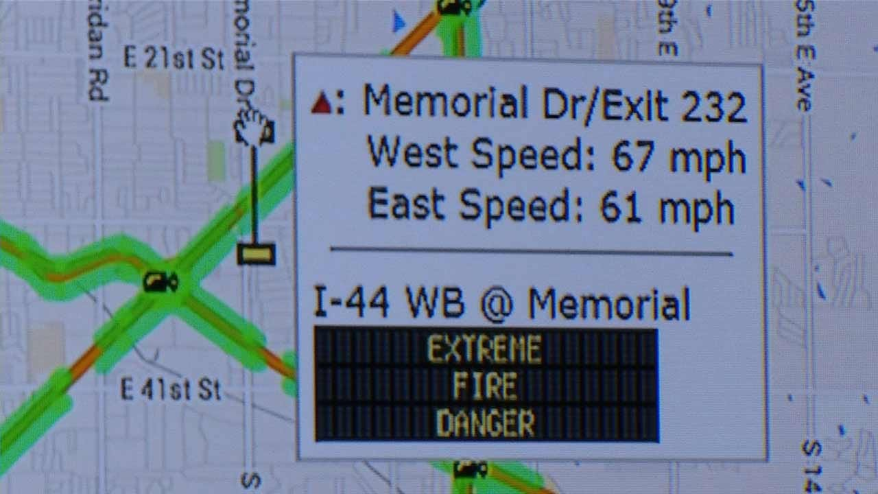 ODOT Testing Real-Time Traffic Updates On Tulsa Message Boards