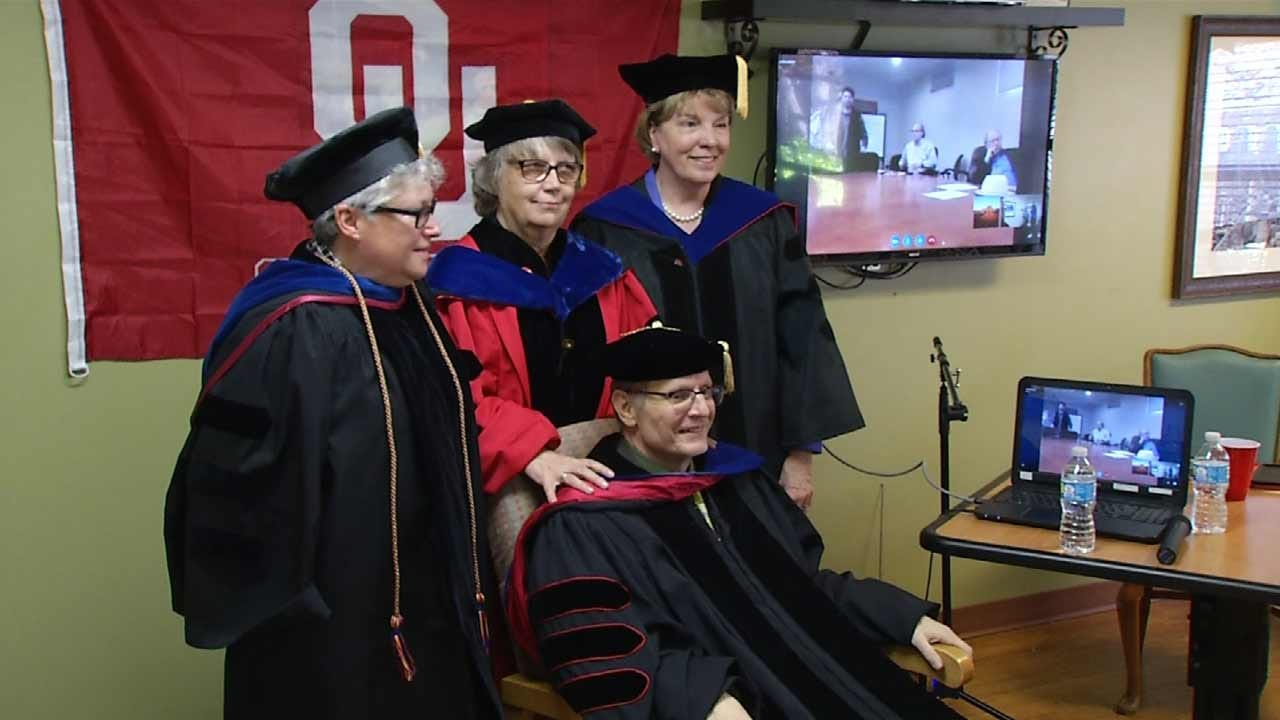 OU Doctoral Candidate Defies Disease To Earn Ph.D.