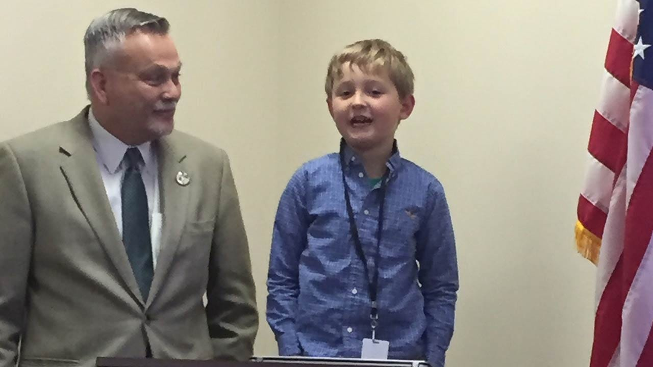8-Year-Old Appointed Oklahoma's First Kid Governor By Sunbeam Family Services, OICA