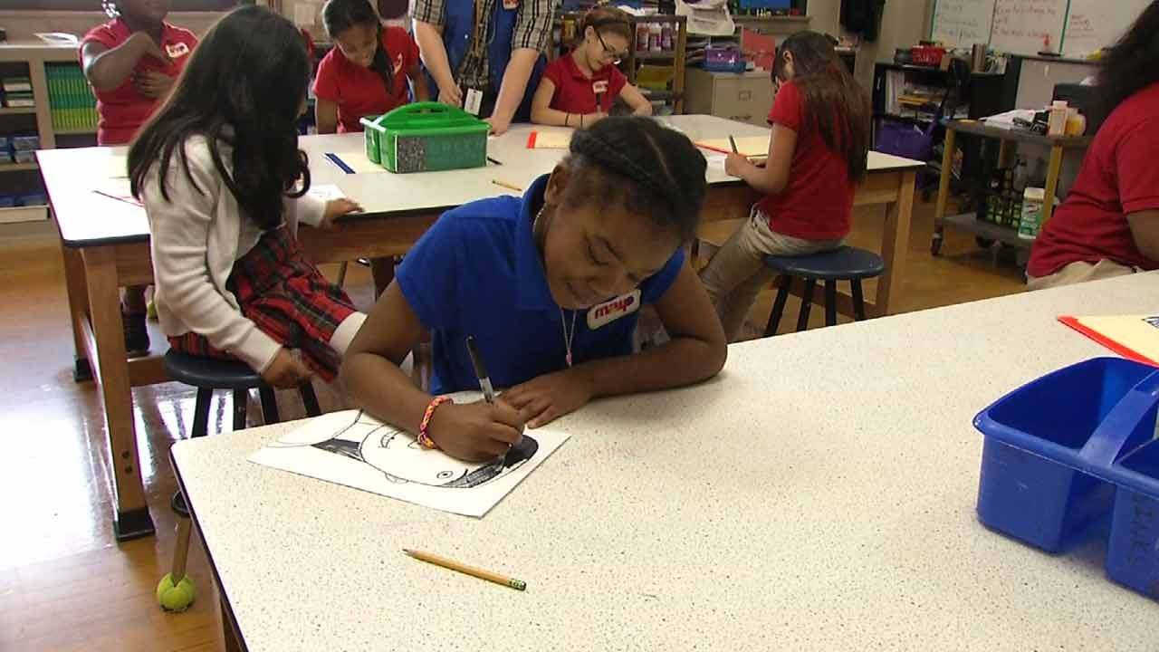 To Celebrate Arts, TPS Holds 'Drop Everything And Create'