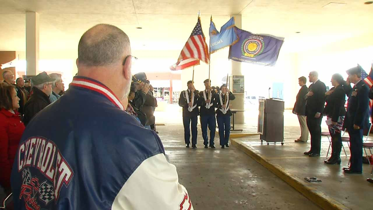 Vietnam War Veterans Given 'Welcome Home' Party In Muskogee