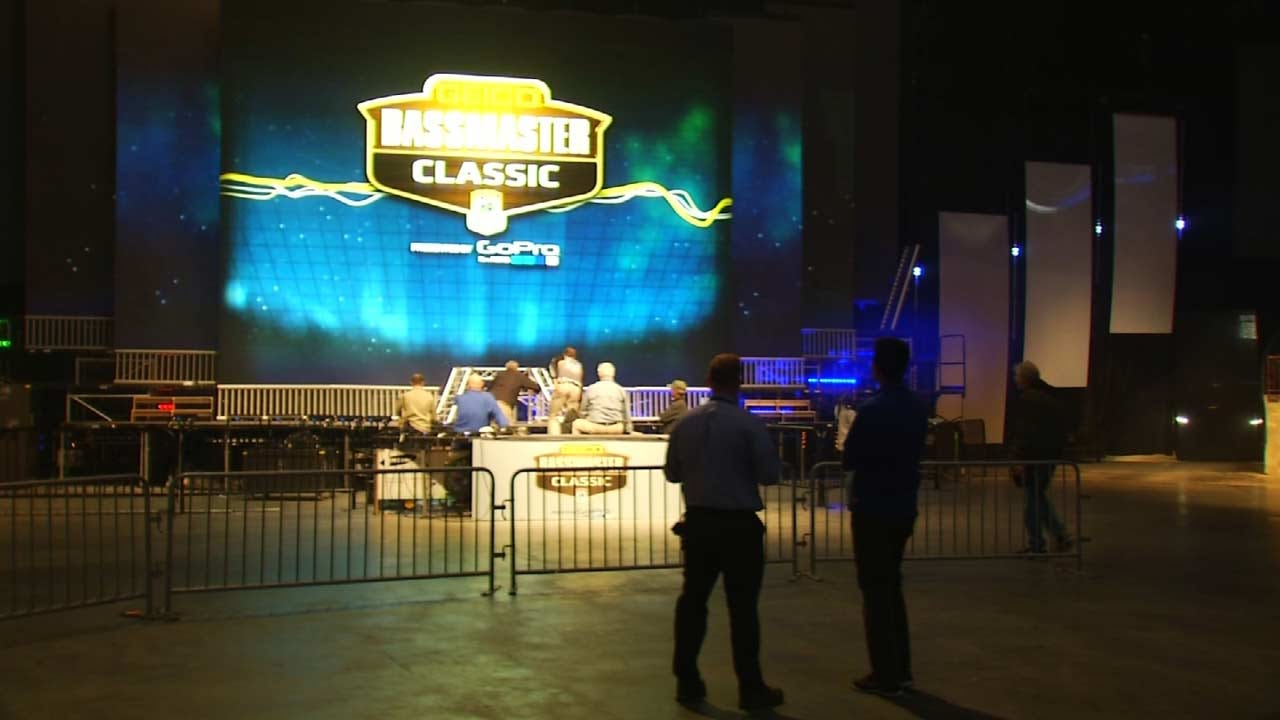 BOK Center Ready To Host Bassmaster Classic Weigh-Ins