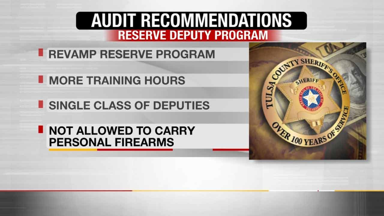 Interim Tulsa County Sheriff Proposes Changes After Critical Audit