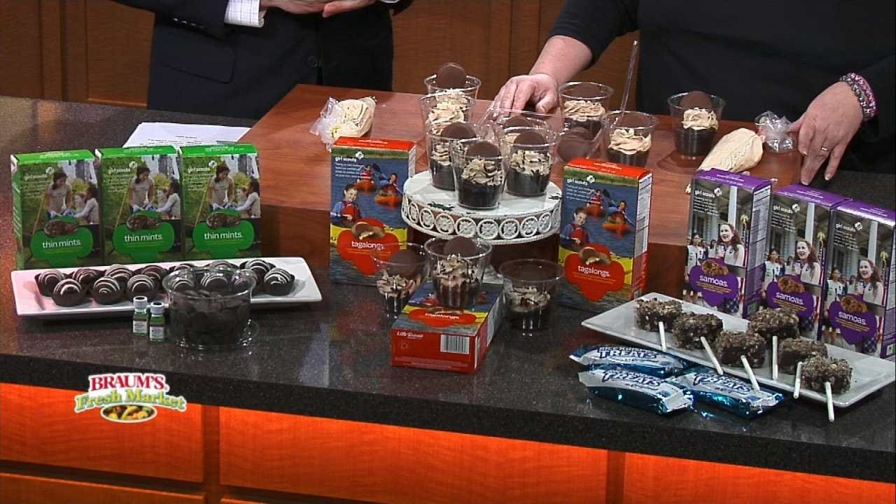 Three 'All Things Cake' Recipes Using Girl Scout Cookies