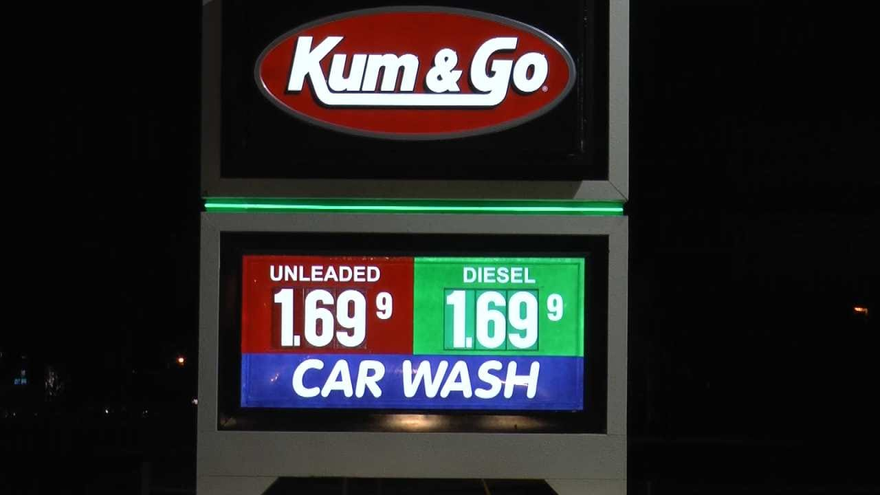 Tulsa-Area Gas Prices Rise 10 Cents