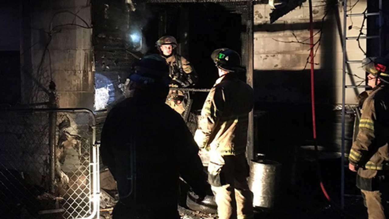 Fire Damages Tulsa House