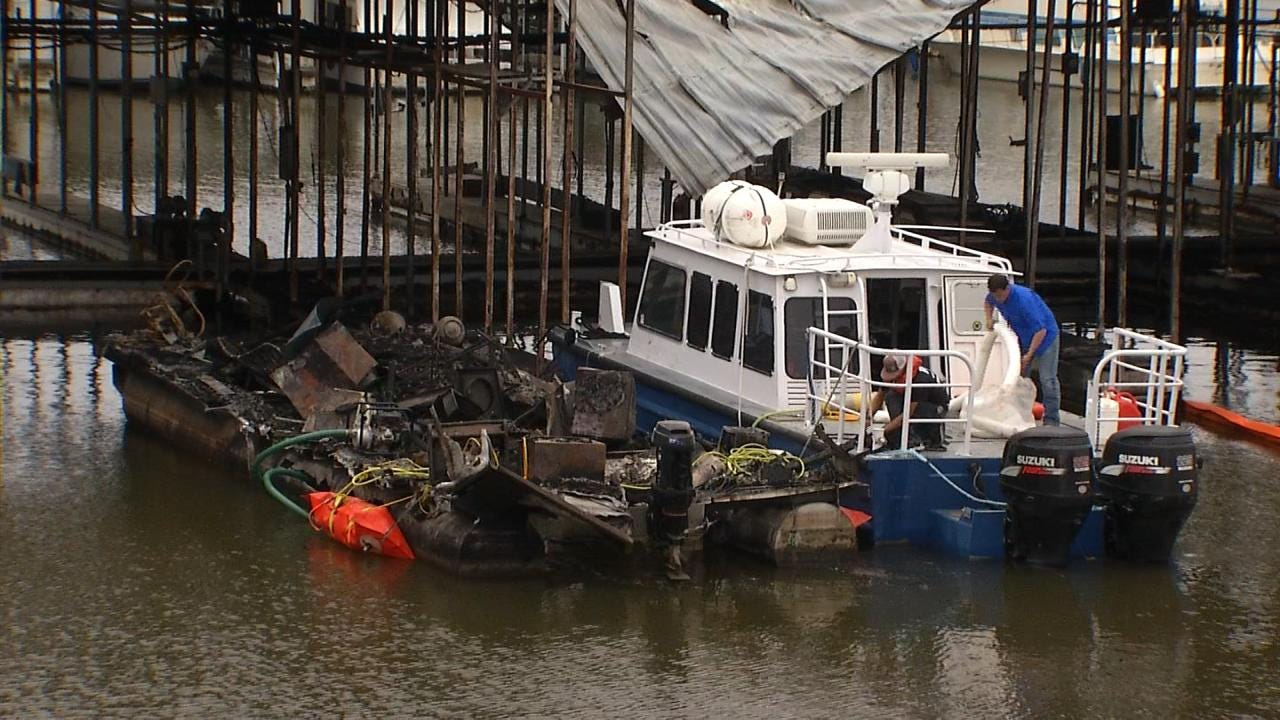 Lake Cleanup Tedious Chore After Massive Pier 51 Fire