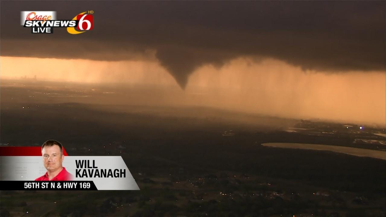 VIDEO: Tornado Touches Down In Owasso