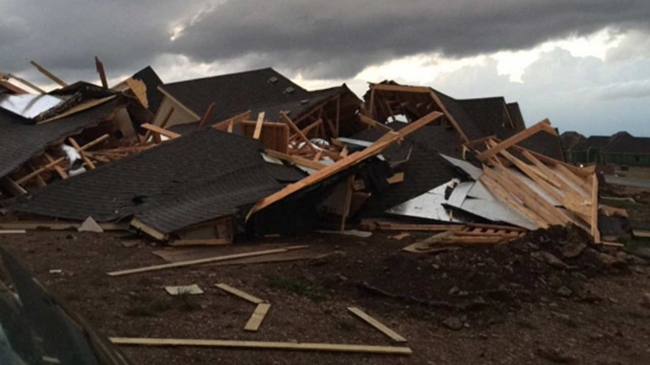 VIDEO: Tornado Touches Down In Owasso