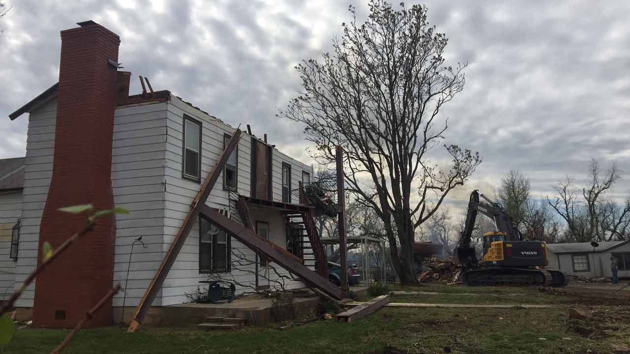 Claremore Assisted Living Center Destroyed By Tornado