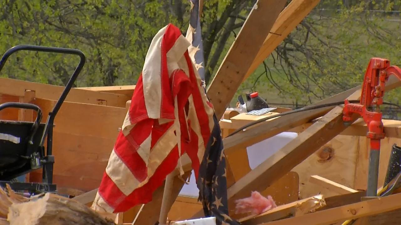 Claremore Couple Counts Blessings Despite Tornado Damage