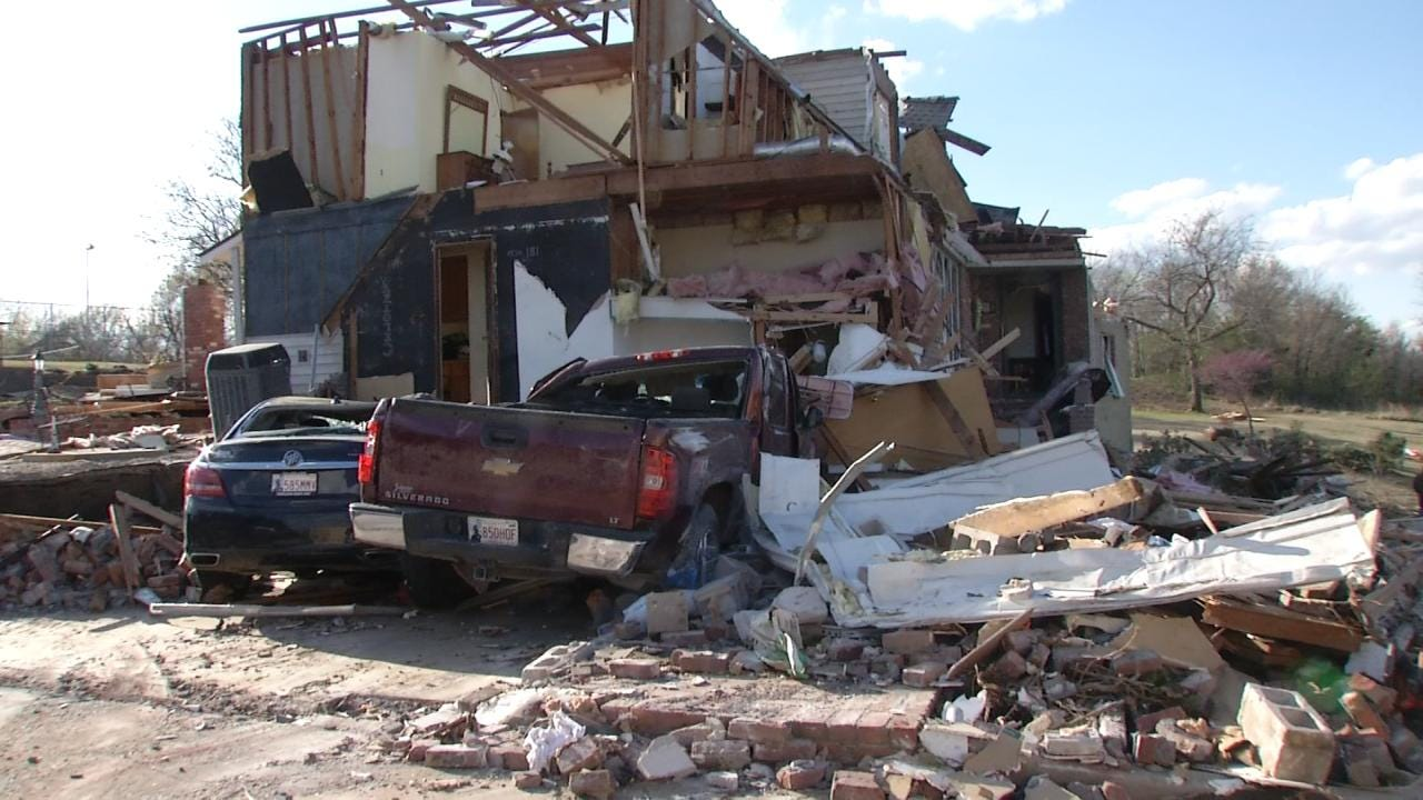 Claremore Woman Thankful For Assistance In Tornado Cleanup