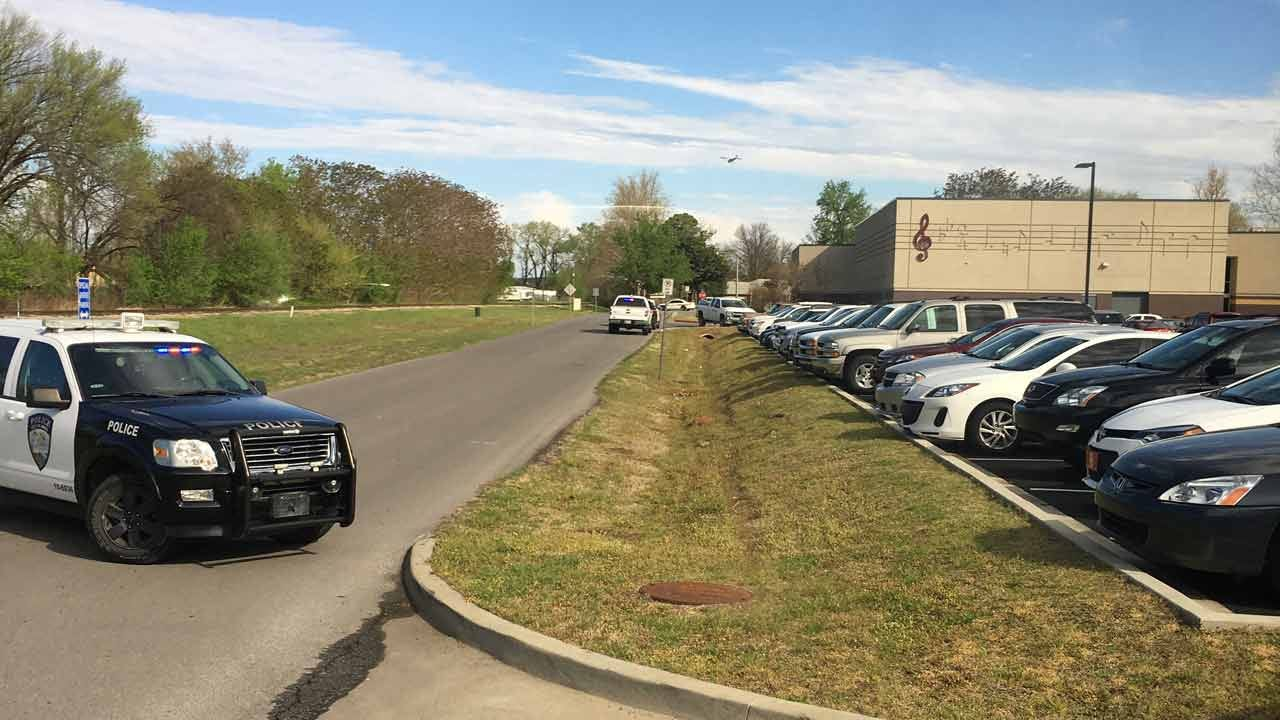 Jenks Public Schools: No Threat Found At JHS Music Building