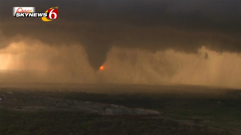 Tornadoes Rip Through Northeastern Oklahoma