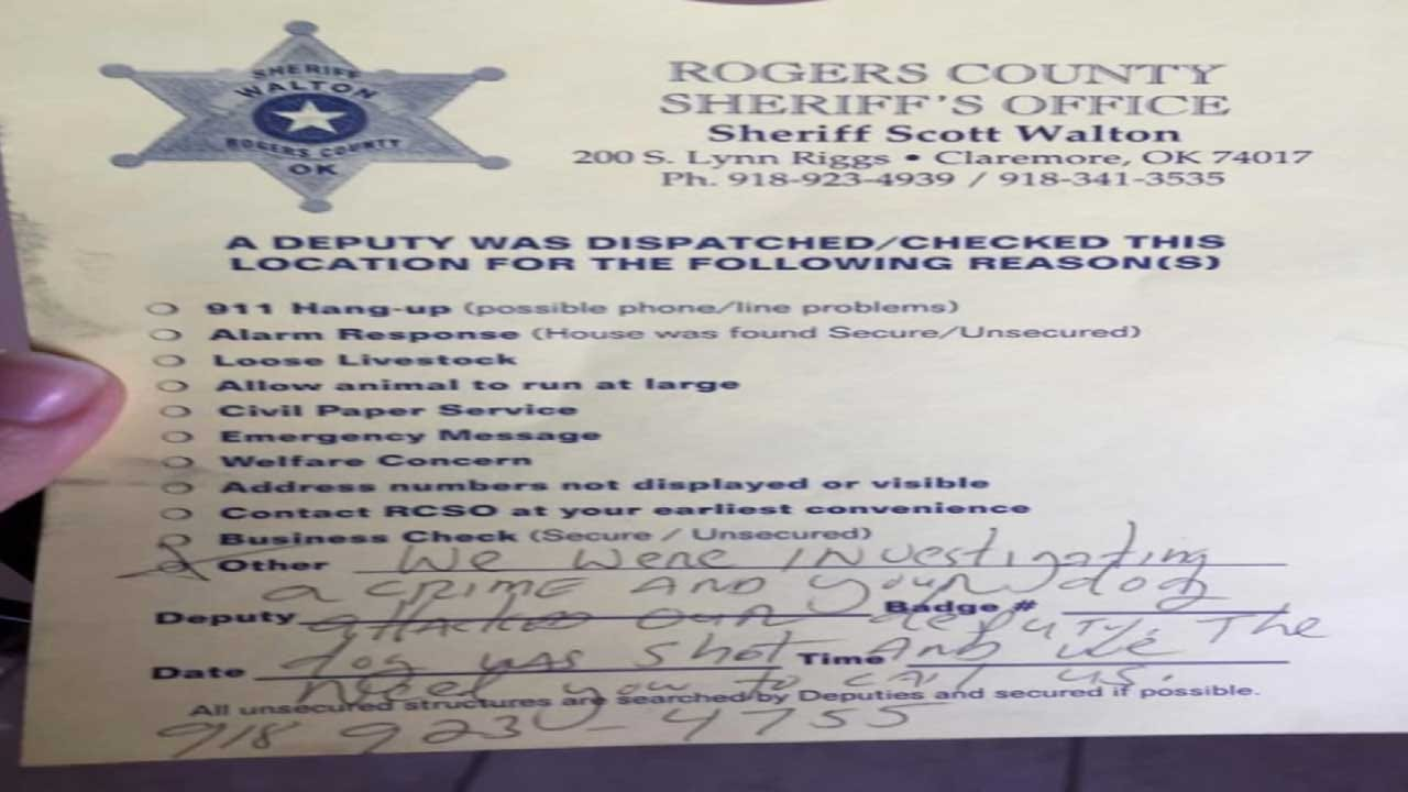 GRAPHIC: RCSO Receiving Backlash After Deputy Shoots Dog