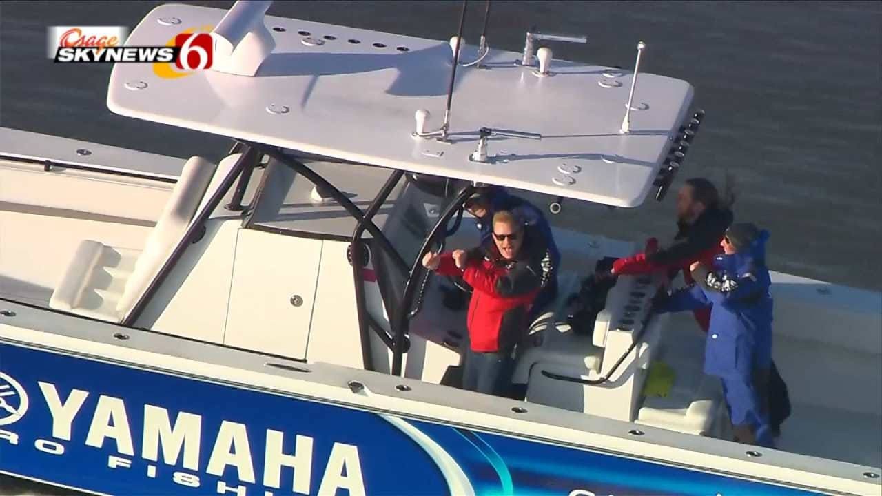 News On 6 Reporter Enjoys Boat Ride At 2016 Bassmaster Classic