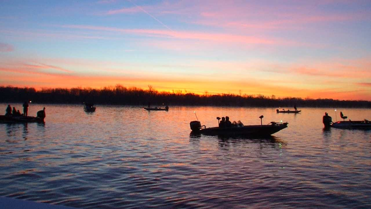 Day 2 Of The 2016 Bassmaster Classic Underway At Grand Lake