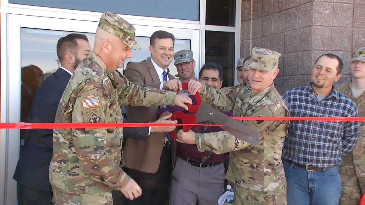 Oklahoma Army National Guard's Readiness Center Re-Dedicated