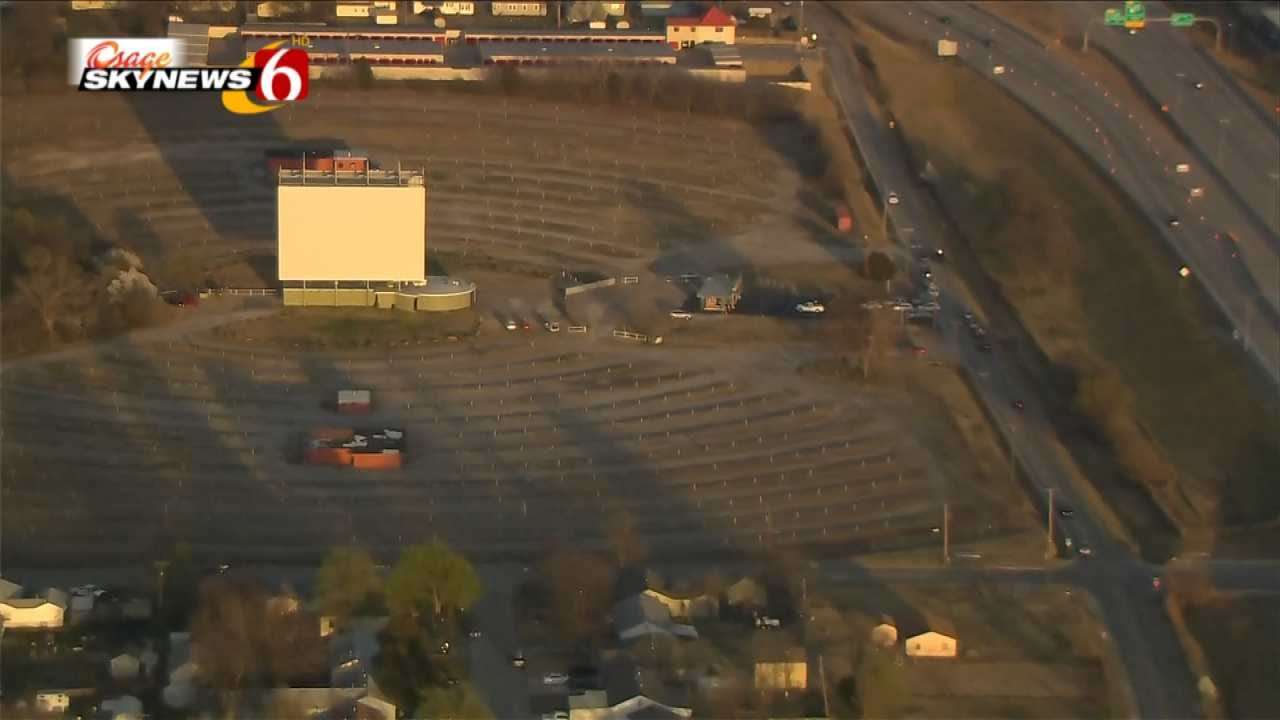 Tulsa's Admiral Twin Drive-In Reopens For The Season