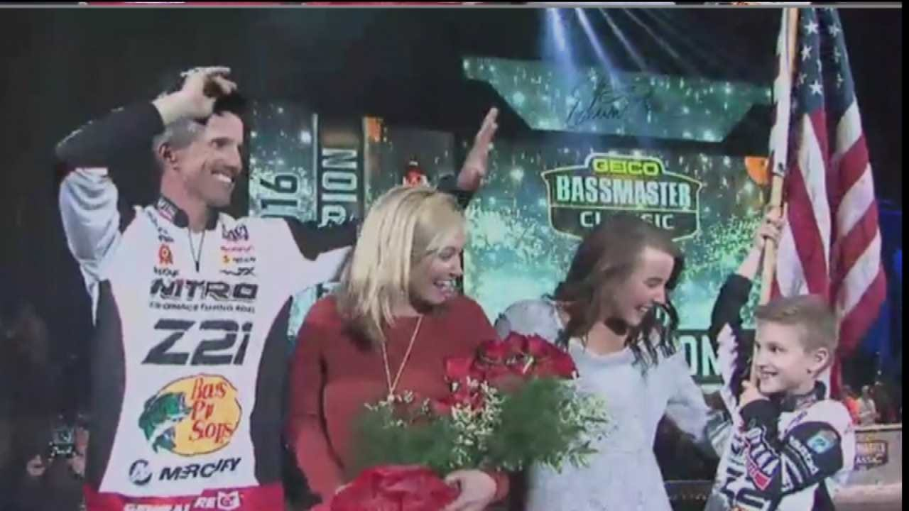 Oklahoma Standard: Evers Wins Bassmaster Classic; Christie Second