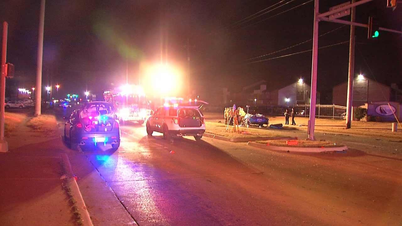 Police: Speed A Factor In Fatal Tulsa Crash