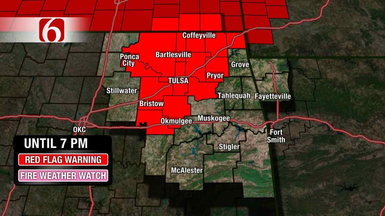 Stacia Knight's Weather Blog: Fire Danger Today, Rain Tomorrow